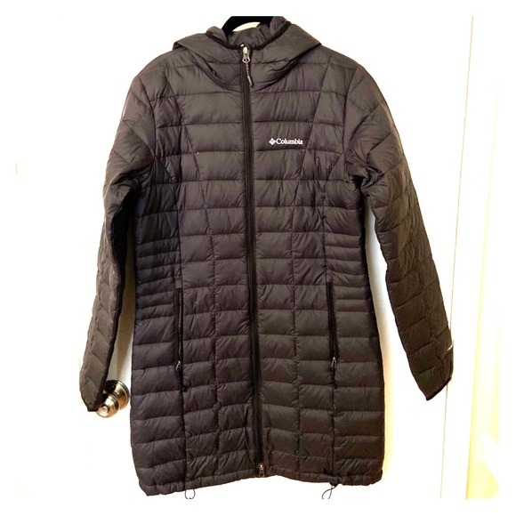 Women's Small Columbia TurboDown jacket coat NWOT